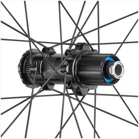 "Fulcrum Wind 55 DB Set Rueda Carretera 28"" HG 8-11-Vel Disc CL Clincher TL, negro"